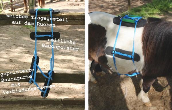 Pony/Esel Packsattel