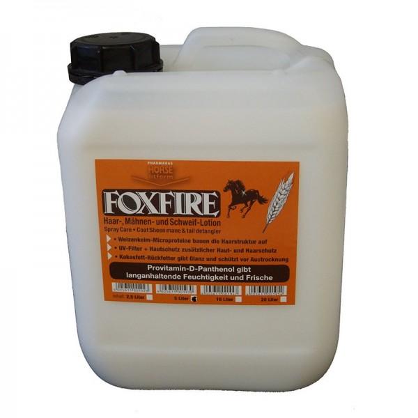 Foxfire Fellglanz-Mähnen-und Schweiflotion, Nachfüllkanister 5l