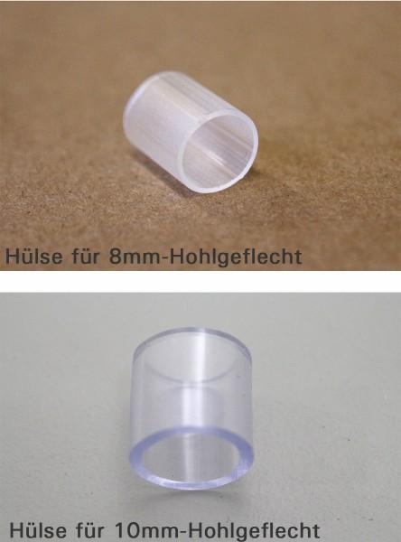 Hülsen für 8/10mm Hohlgeflecht