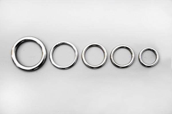 Ring, Messing, vernickelt