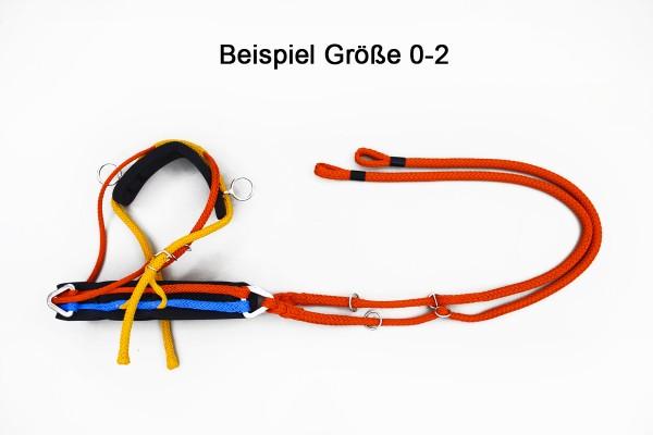 PLUS Brustblatt mit Zugsträngen, rechts