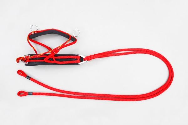 ESEL - Brustblatt mit Zugsträngen, links