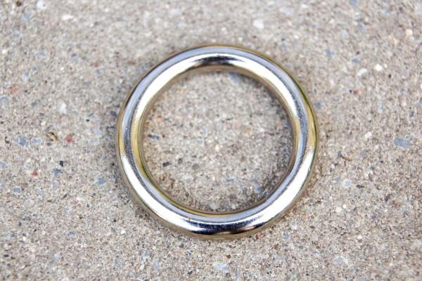 Ring 28mm Messing vernickelt im Angebot