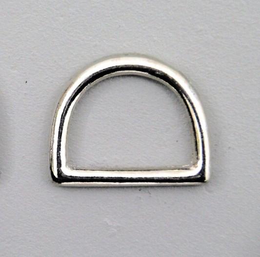 D-Ring, verschweißt, rostfrei