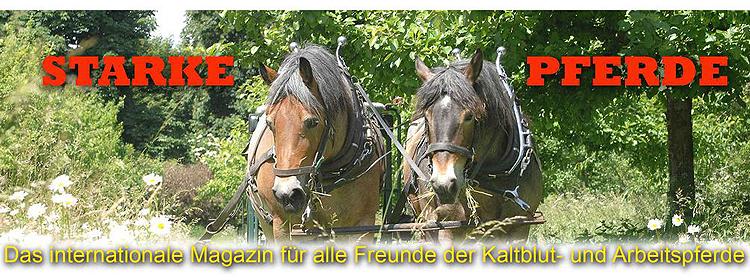Starke Pferde - Das Kaltblut Magazin